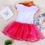 Pre-order ชุดเอลซ่า / Size 120 / Pink thumbnail 2