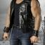 SuperMCTOYS F-073 Leather Sleeveless Moto Jacket Sets for Strongbody thumbnail 5