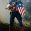 Hot Toys MMS205 CAPTAIN AMERICA: THE FIRST AVENGER - CAPTAIN AMERICA (STAR SPANGLED MAN VERSION) thumbnail 4