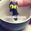 ต่างหูดินโพลิเมอร์ แมวดำตัวอ้วน thumbnail 1