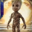 Hot Toys LMS004 GUARDIANS OF THE GALAXY VOL. 2 - GROOT (LIFE-SIZE) thumbnail 9