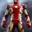 Hot Toys QS005 AV: AOU - IRON MAN MARK XLIII 1/4th scale thumbnail 8