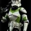 SIDESHOW STAR WARS - Militaries Or Star Wars: 442nd SIEGE BATTALION clone trooper thumbnail 6