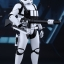 Hot Toys MMS318 STAR WARS: THE FORCE AWAKENS - FIRST ORDER HEAVY GUNNER STORMTROOPER thumbnail 4