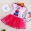 Pre-order ชุดเอลซ่า / Size 120 / Pink thumbnail 1