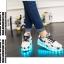รองเท้ามีไฟ รองเท้า LED สีขาว มีลายรูปดาวสีดำ เปลี่ยนสีได้ 11 สี สินค้าพรีออเดอร์ thumbnail 10