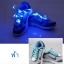 เชือกรองเท้าไนล่อนเรืองแสง มีไฟ Led กระพริบ แบบสีเดียว ทำจากเชือกรองเท้าไนล่อน thumbnail 1