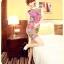 หมดค่ะ เดรสผ้าชีฟองลายสีชมพู สวยๆจ้า thumbnail 1