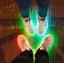 รองเท้ามีไฟ รองเท้า LED สีขาว มีแถบสีเหลืองดำ เปลี่ยนสีได้ 11 สี สินค้าพรีออเดอร์ thumbnail 12