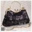 bs0014 กระเป๋าคลัช สีดำ กระเป๋าออกงานพร้อมส่ง ราคาถูกกว่าเช่า แบบสวยๆ ดูดีเหมือนดาราใช้ thumbnail 1