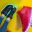 รองเท้ามีไฟ รองเท้า LED หุ้มข้อ สีแดง เปลี่ยนสีได้ 11 สี สินค้าพรีออเดอร์ thumbnail 6