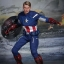 Hot Toys MMS174 THE AVENGERS - CAPTAIN AMERICA thumbnail 3