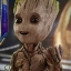 Hot Toys LMS004 GUARDIANS OF THE GALAXY VOL. 2 - GROOT (LIFE-SIZE) thumbnail 18