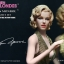 Star Ace SA0016 Marilyn Monroe Gold Dress Ver. thumbnail 1