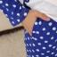 ชุดนอนแขนยาวลายกระต่ายสีน้ำเงิน thumbnail 4