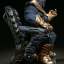 Thanos on Throne - Maquette by Sideshow Collectibles thumbnail 9