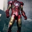 Hot Toys MMS196 THE AVENGERS - BATTLE DAMAGED MARK VII (MOVIE PROMO EDITION) thumbnail 6