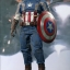 Hot Toys MMS240 CAPTAIN AMERICA: THE WINTER SOLDIER - CAPTAIN AMERICA (GOLDEN AGE VERSION) thumbnail 1