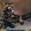 Hot Toys MMS411 GUARDIANS OF THE GALAXY VOL.2 - ROCKET (DELUXE VERSION) thumbnail 8