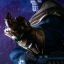 Thanos on Throne - Maquette by Sideshow Collectibles thumbnail 3