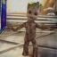 Hot Toys LMS004 GUARDIANS OF THE GALAXY VOL. 2 - GROOT (LIFE-SIZE) thumbnail 2