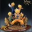 MRC 1/6 RESIN STATUE COLLECTIBLE - SSJ GOKU, VEGETA, GOHAN, TRUNK & GOTEN thumbnail 2