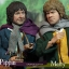 Asmus Toys LOTR012S LOTR013S LORD OF THE RING - PIPPIN & MERRY thumbnail 2