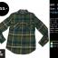 C2058 เสื้อลายสก๊อต สีเขียว Mossimo thumbnail 1