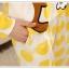 ชุดนอนแขนยาวน่ารัก ลายริลัคคุมะ สีเหลือง thumbnail 6