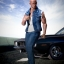 ACPLAY ATX-034 1/6 Fast and furious: Dominic Toretto denim vest suit thumbnail 8