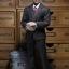 POPTOYS X22 1/6 Style Series - Men's striped Suit X3 colours thumbnail 15