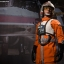 SIDESHOW 1/6 Star Wars Episode IV: A New Hope - Luke Skywalker: Red Five X-wing Pilot thumbnail 4