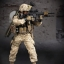 DAMTOYS No.78014 RECONNAISSANCE BATTALION M27 RIFLEMAN in afghanistan thumbnail 4