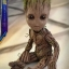 Hot Toys LMS004 GUARDIANS OF THE GALAXY VOL. 2 - GROOT (LIFE-SIZE) thumbnail 12