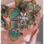 ld3013 ชุดราตรียาว เกาะอก ช่วงอกเป็นงานปักลายดอกไม้ คริสตอล ผ้ามันเงา ใส่ไปงานแต่งงานกลางคืน สวยหรูมากๆ thumbnail 6