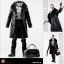 POPTOYS F16-A BLACK The Mafia style leather dress suit thumbnail 1