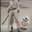 Hot Toys MMS337 STAR WARS: THE FORCE AWAKENS - REY AND BB-8 thumbnail 5