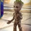 Hot Toys LMS004 GUARDIANS OF THE GALAXY VOL. 2 - GROOT (LIFE-SIZE) thumbnail 10