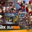 Hot Toys QS008 IRON MAN 3 - MARK XLII (Deluxe Version) 1/4th scale thumbnail 6