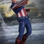 Hot Toys MMS174 THE AVENGERS - CAPTAIN AMERICA thumbnail 1