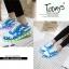รองเท้ามีไฟ รองเท้า LED สีขาวฟ้า มีลายรูปดาว เปลี่ยนสีได้ 11 สี สินค้าพรีออเดอร์ thumbnail 6