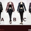POPTOYS F15-B RED (The Nikita female agent leather suit thumbnail 7