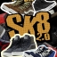 Super MC F-072 1/6 SK8 SHOES 2.0 thumbnail 1