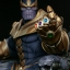 Thanos on Throne - Maquette by Sideshow Collectibles thumbnail 22