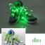 เชือกรองเท้าไนล่อนเรืองแสง มีไฟ Led กระพริบ แบบสีเดียว ทำจากเชือกรองเท้าไนล่อน thumbnail 5