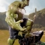 29/05/2018 Iron Studios - Hulk BDS Art Scale 1/10 Avengers Infinity War thumbnail 5