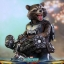 Hot Toys MMS411 GUARDIANS OF THE GALAXY VOL.2 - ROCKET (DELUXE VERSION) thumbnail 10