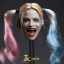 JXTOYS JX-012 Clown girl Hair plastic hair double whip headsculpt thumbnail 1