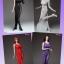 ONLYGIRL LG03A-D 1/6 Dress 4 Set thumbnail 1