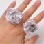 แหวนเพชรเม็ดใหญ่มีไฟ LED กระพริบ thumbnail 4